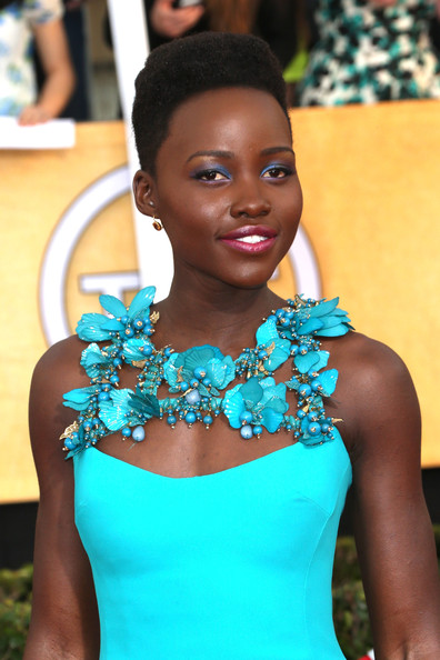 Lupita Nyongo at the 2014 SAG Awards