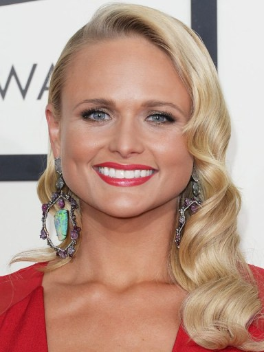 Miranda Lambert at the 2014 Grammy Awards
