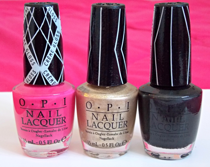 Hey Baby, Love.Angel.Music.Baby. and 4 in the Morning from the OPI Gwen Stefani Collaboration