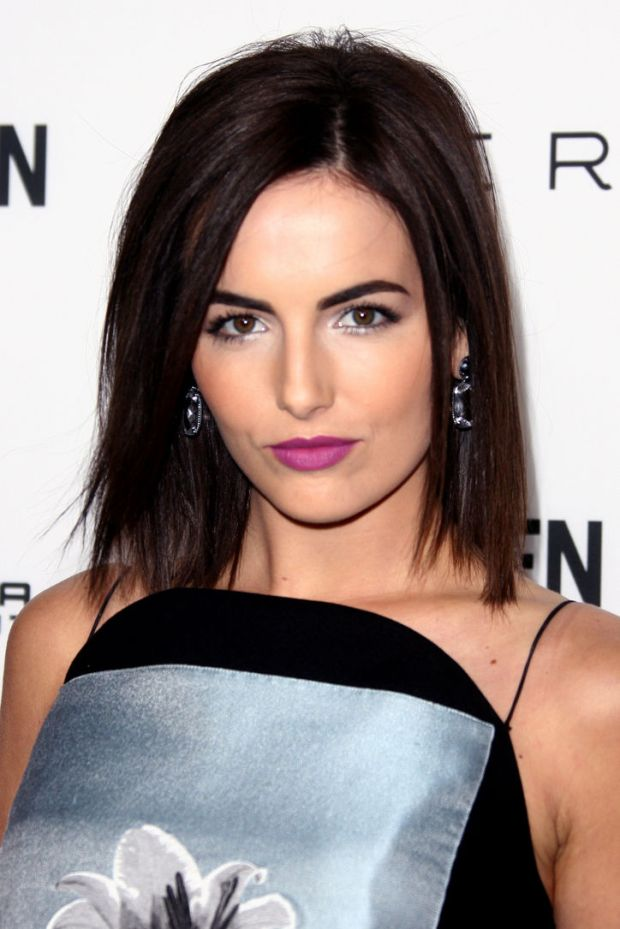 Camilla Belle rocking orchid lipstick
