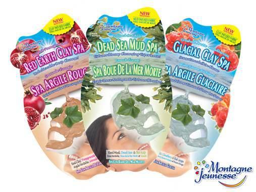 Montagne Jeunesse Clay Spa Masks