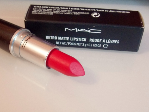 MAC Cosmetics Retro Matte Lipstick in All Fired Up