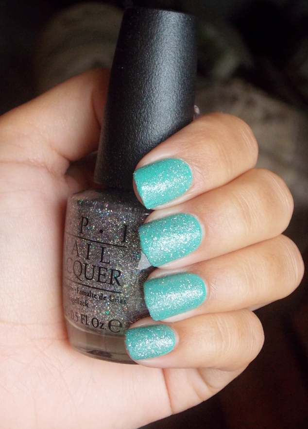 OPI My Voice is a Little Norse over My Dogsled Is a Hybrid