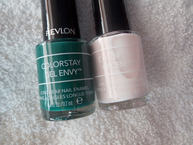 Revlon ColorStay Gel Envy Nail Polish in High Stakes and All Or Nothing