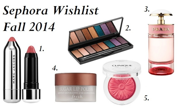 Sephora Wishlist for Fall 2014