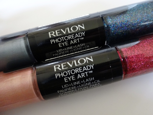 Revlon PhotoReady Eye Art Lid + Line + Lash in Cobalt Crystal and Fuchsia Flash