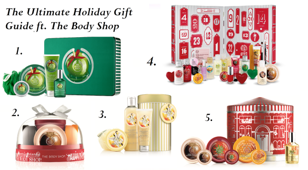 The Ultimate Holiday Gift Guide Featuring The Best of The Body Shop Products