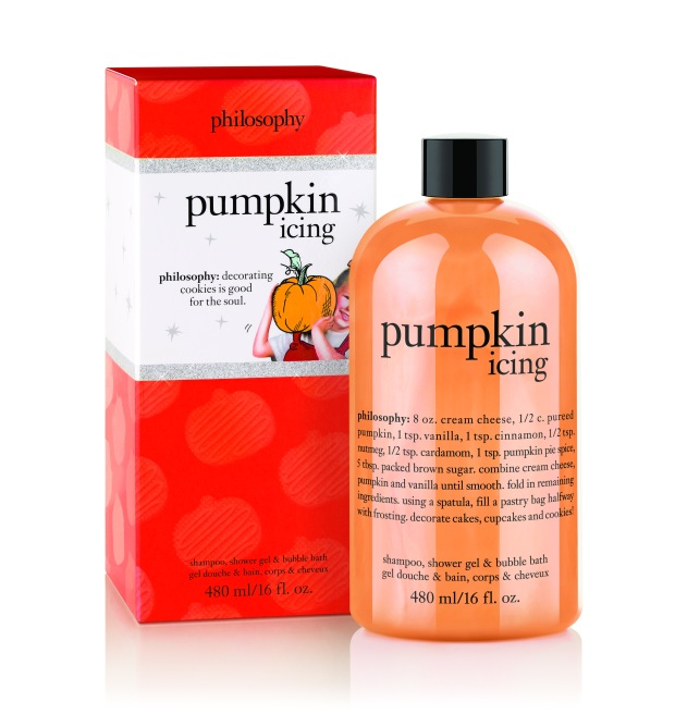Philosophy Pumpkin Icing Shampoo, Shower Gel & Bubble Bath