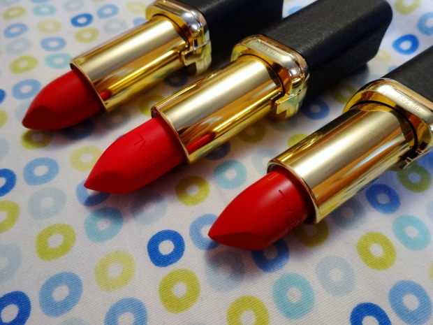 L'Oreal Paris Collection Exclusive Pure Reds by Colour Riche Lipsticks