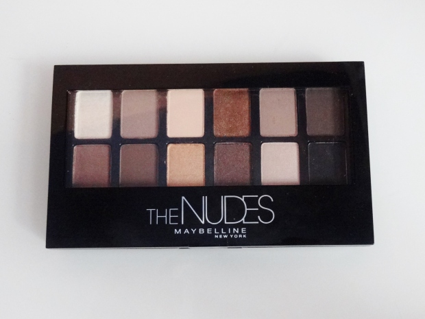Maybelline New York The Nudes Eye Shadow Palette