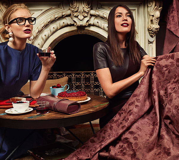 PANTONE Photo Story Featuring Color of The Year 2015: Marsala