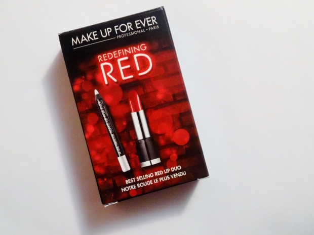 Make Up For Ever Redefining Red Best Selling Red Lip Duo