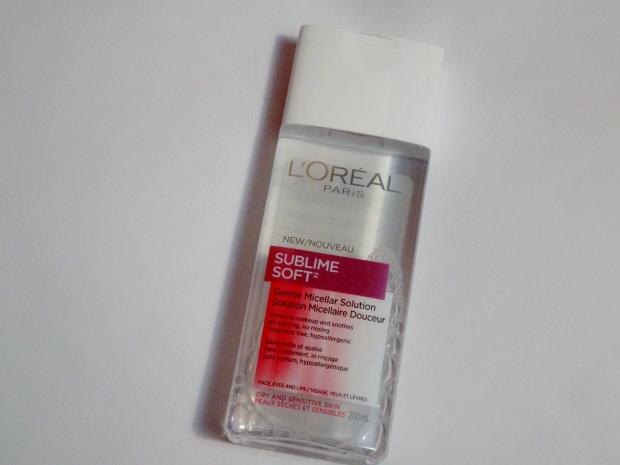 L'Oreal Paris Sublime Soft Gentle Micellar Solution